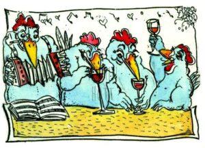 Armin Hott - Da feiern ja die Hühner!