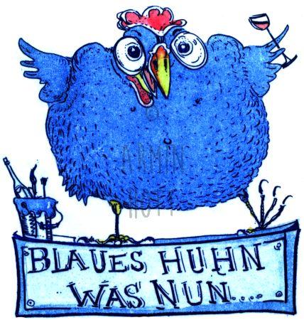 Armin Hott - BlauesHuhnwasnun