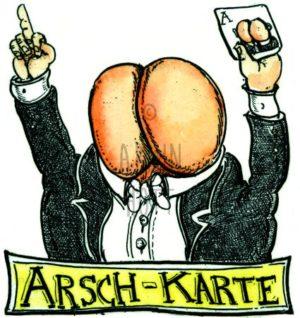Armin Hott - Arschkarte