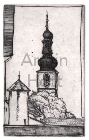 Armin Hott - BadBergzabern_Markt-Kirche