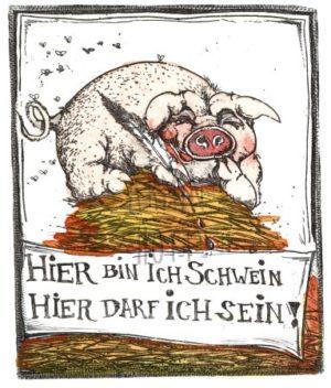Armin Hott - HierbinichSchweinhierdarfichsein