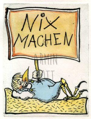 Armin Hott - Nix machen