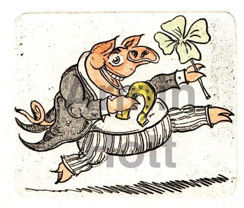 Armin Hott - Schwein im Glück