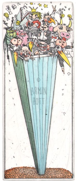 Armin Hott - Die da oben - Die da unten