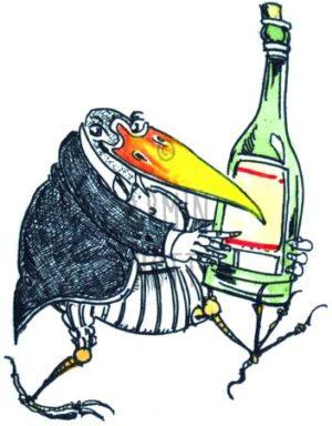Armin Hott - Eine Flasche Wein