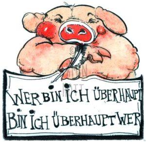 Armin Hott - Werbin ichuebrhauptBinichueberhauptwer