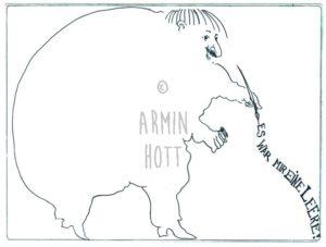 Armin Hott - EswarmireineLeere