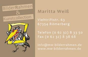 Armin Hott - Individuelle Karten - Visitenkarte Weiß