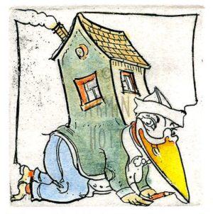 Armin Hott - Ein Haus geschultert