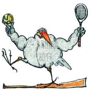 Armin Hott - Tennis-Rabe