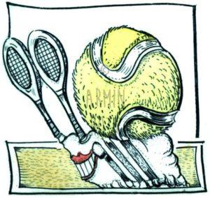 Armin Hott - Tennis-Schneckel