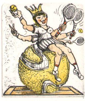 Armin Hott - Tennis_Prinzessin