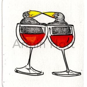 Rotwein-Liebe