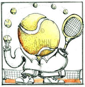 Armin Hott - TennisKanone