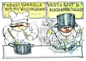 Armin Hott - FrueherhabenallenurmitWassergekocht