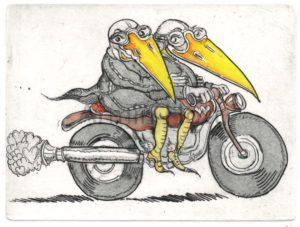 Armin Hott - Motorrad-Liebe