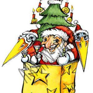 Karte Weihnachten 2008