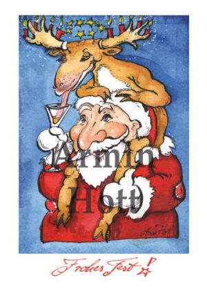 Armin Hott - Karte Weihnachtskarte 2018