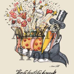 """Karte Geburtstag """"Herzlichen Glückwünsch"""""""