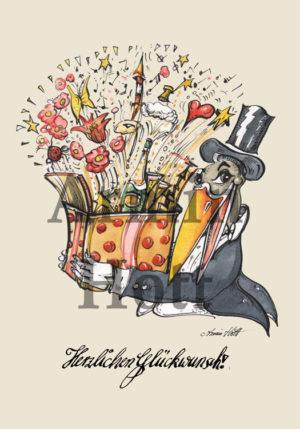 Armin Hott - Karte Geburtstag