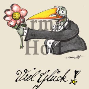 """Karte """"Viel Glück"""""""