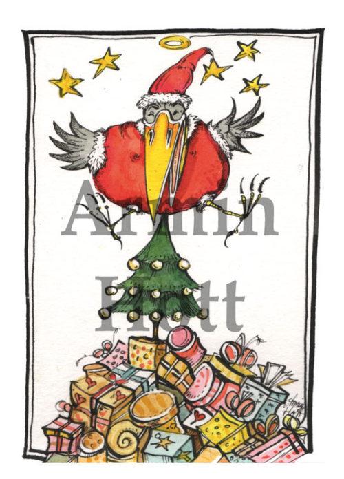 Armin Hott - Karte Weihnachtskarte 2020