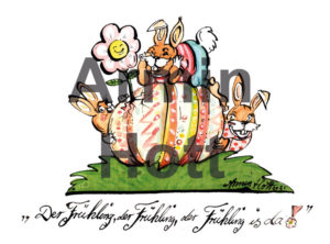 Armin Hott Postkarte - 2021_Postkarte_Ostern